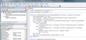 Visio Layers Document Code