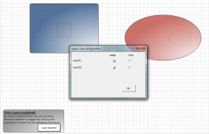 Visio Layers sample file