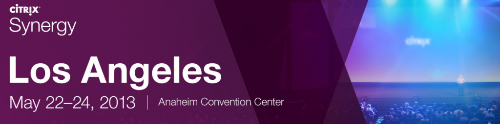 Citrix Synergy 2013