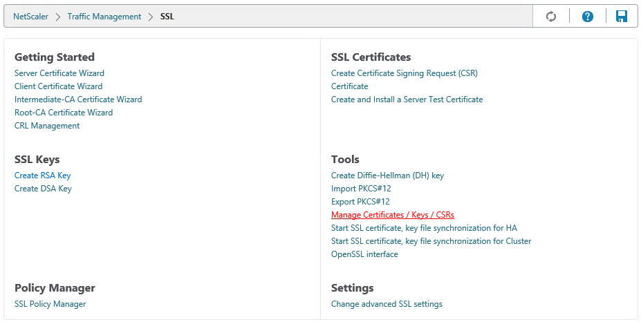 Adding Ssl Certificates On The Netscaler Peppercrew