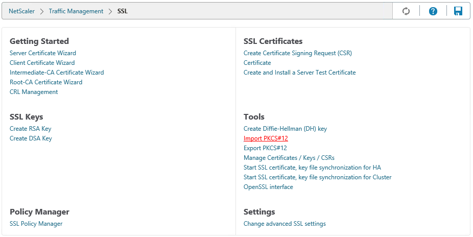 Howto Importing Ssl Certificates On The Netscaler Virtues