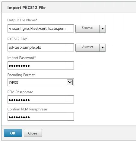 Adding SSL certificates on the NetScaler – PepperCrew