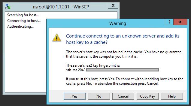 ssh host key