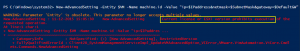 PowerShell License Error