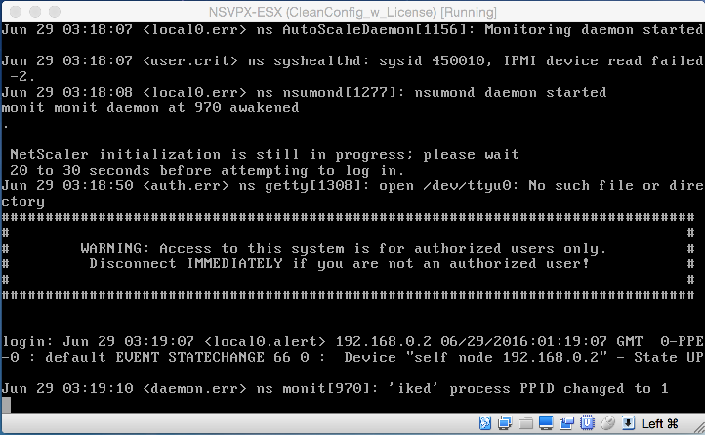 HowTo: Run a Citrix NetScaler VPX on Oracle VirtualBox